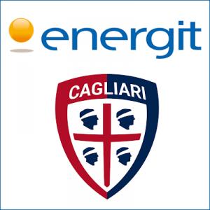 Energit è Main Sponsor pantaloncino Cagliari Calcio