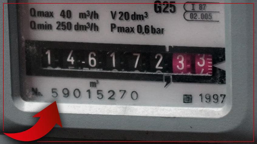 Dove trovo il codice PDR sul contatore gas?