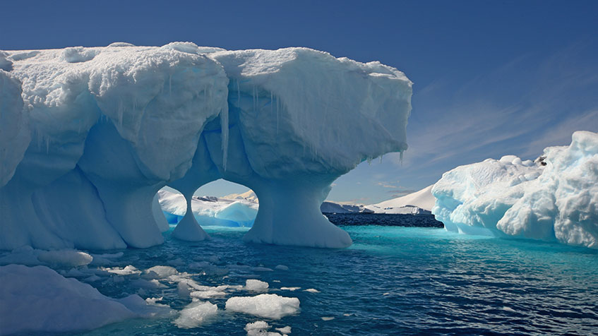 Temperatura Antartide: nuovo record assoluto