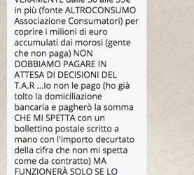 La bufala dei 35 euro in bolletta: dovremo davvero pagare le bollette dei clienti morosi?