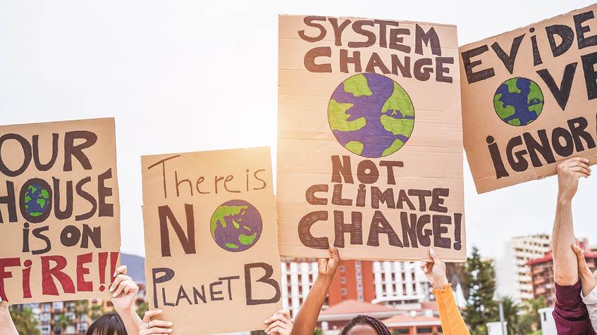 slogan sul riscaldamento globale