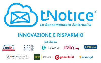 """Energit adotta il nuovo servizio di raccomandata elettronica """"tNotice"""""""